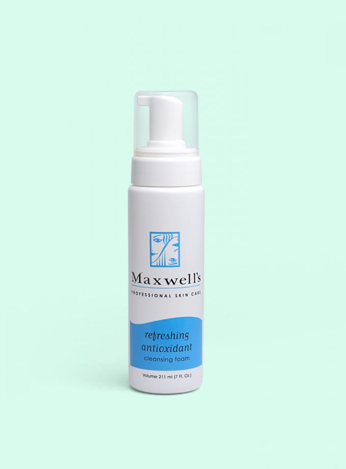 refreshing antioxidant cleanser foam